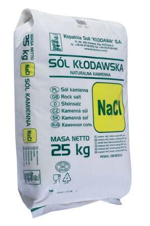 Sól spożywcza kłodawska , Sól kamienna 25 kg