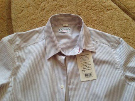 НОВАЯ рубашка на парня 16-17 лет, рост 182-188 ЮНІСТЬ School