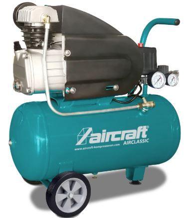 Compressor de Ar Comprimido Aircraft 25 lts 188 L/ min 1.1 kW 230V