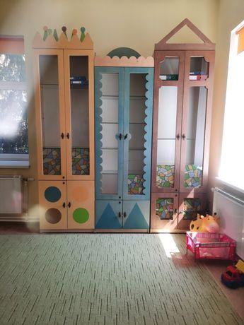 Шкафы цветные детские 4 штуки