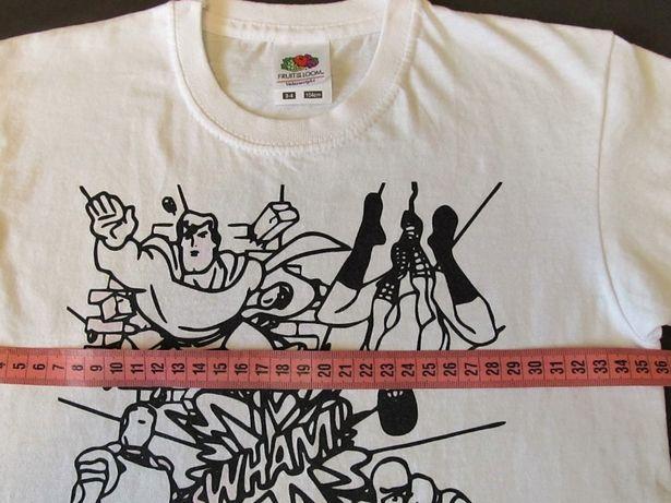 Фирменная футболка Fruit of the loom для мальчика 3-4 года,104 см