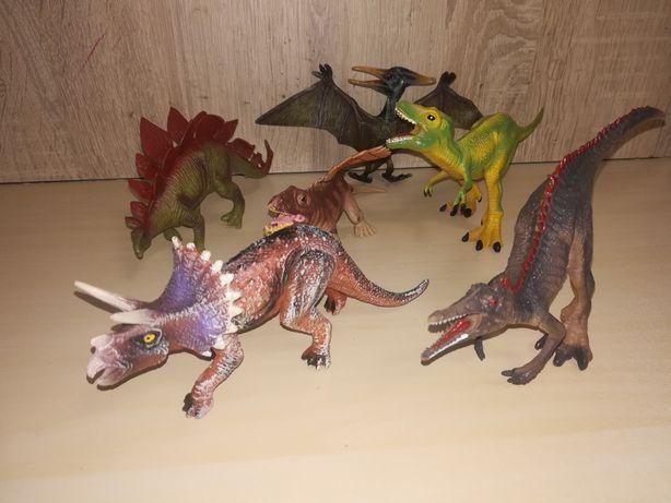 Nowy zestaw komplet dinozaury 6 sztuk