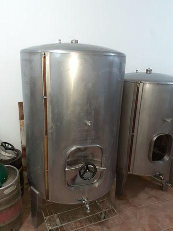Depósito de inox 1000L para vinho