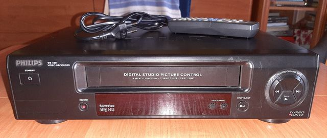 Magnetowvid, odtwarzacz VHS