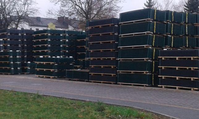 Panele ogrodzeniowe Ogrodzenia panelowe BRĄZOWE 123/250 fi5