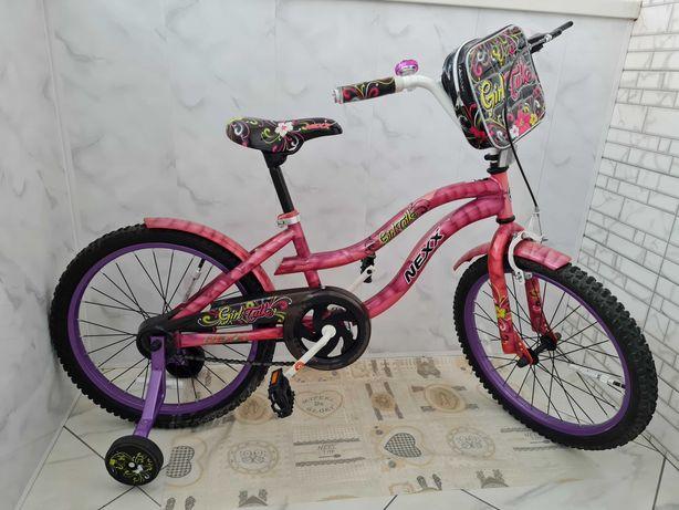 Продам детский велосипед розовый