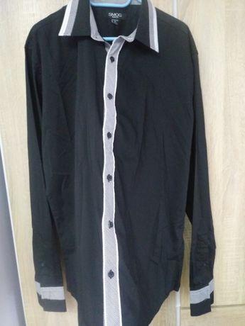 Koszula męska elegancka Smog slim fit roz XL