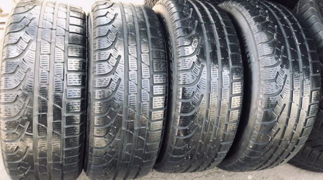 Pirelli 205/55r16 4 шт зима резина шины б/у склад