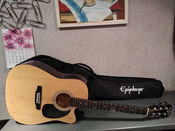 Nowa gitara elektroakustyczna Westroad WG-29CEN z pokrowcem! Polecam !