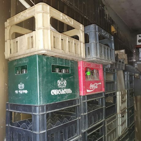 Ящики пластмассовые (пластик)
