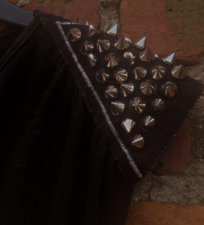 Rockowa tunika /sukienka kolce