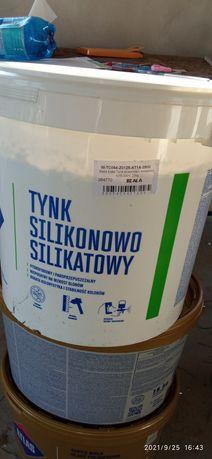 Tynk Atlas sylikonowo-sylikatowy