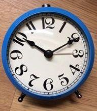 Relogio Despertador Azul