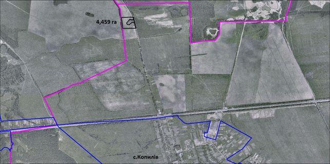 Земельна ділянка для виробничо-складського комплексу.