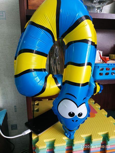 Надувная Цифра 4 шарик