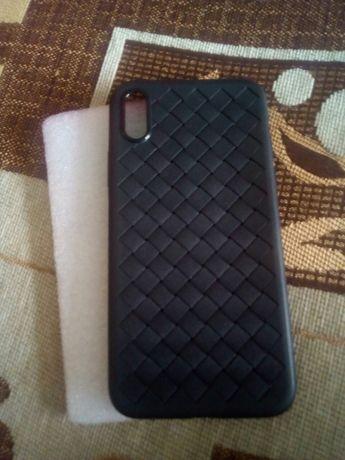 Etui plecki FLOVEME do iPhone X czarne czerwone