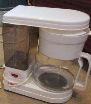 Кофеварка капельная SATELLITE, немного б/у.