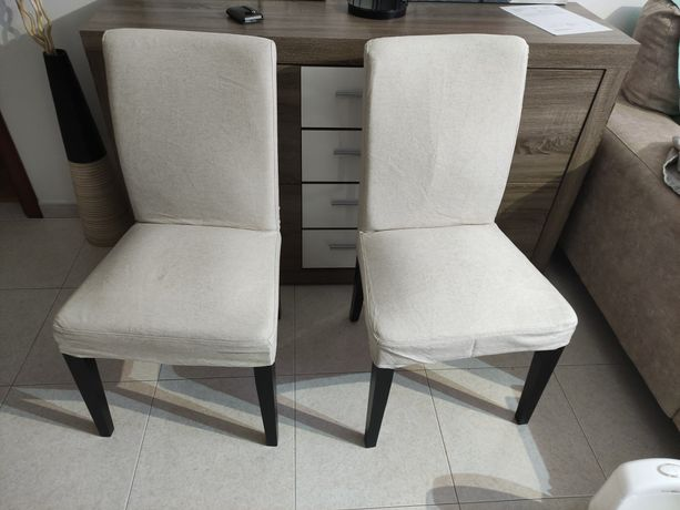 Cadeiras HENRIKSDAL IKEA Linneryd cru