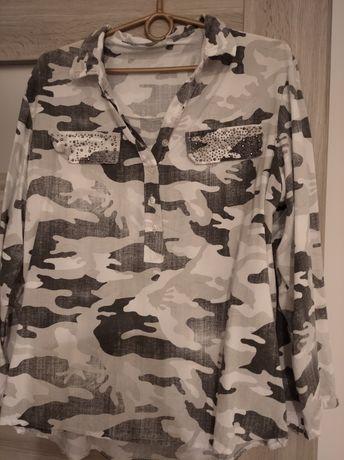 Koszula moro z cekinami