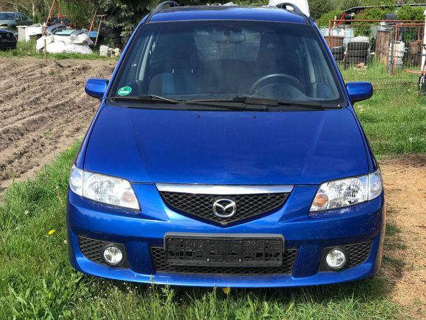 Mazda Premacy 1.8 бензин /крило/капот /бампер/фари /генератор/стартер