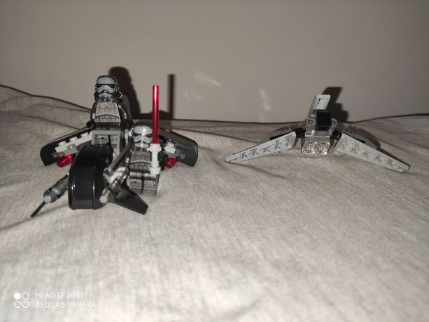 Oryginalne lego Star Wars statek pojazd