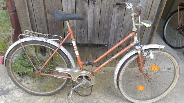 Stary Rower sprowadzony z Niemiec