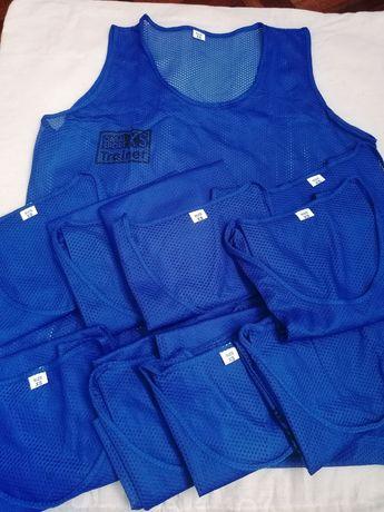 10 Coletes de Treino XS Azul