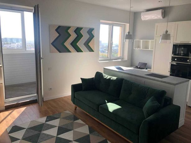 Новая 1к квартира в ЖК Мироноситская