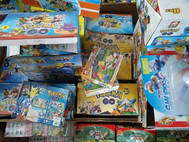Zabawki  kontener. Okazja likwidacja