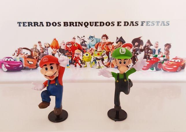 2 pcs / Super Mário e Luigi (Portes Incluídos)