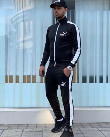 Спортивный костюм Пума,кофта + штаны,мужская одежда,новый,стильный