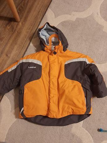 Wedze kurtka dziecięca zimowa ciepla w góry decathlon nieprzemakalna