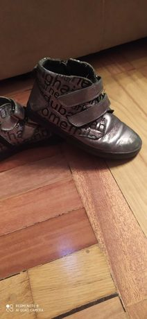 Ботинки детские кожаные