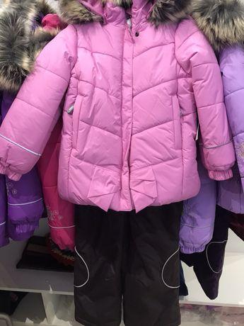 Зимний комплект для девочки LENNE ленне