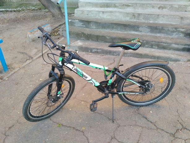 Велосипед подростковый колеса 24, рама 13