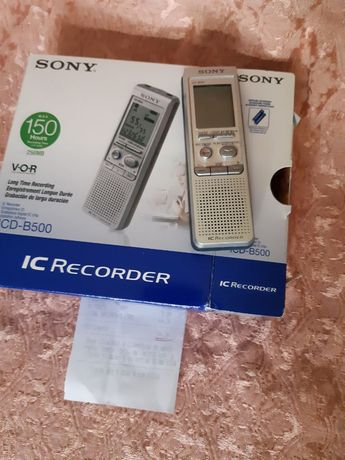 Gravador SONY ICD-B500 - NOVO