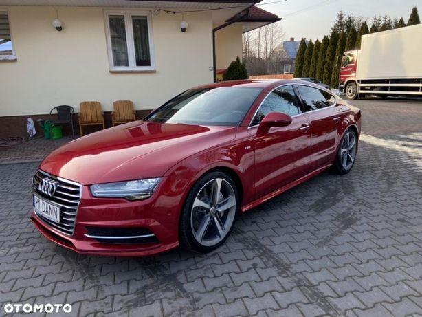 Audi A7 320 KONI/AKTYWNY WYDECH/PNEUMATYKA/Webasto/Salon Polska/1 szy Wł/FV23%