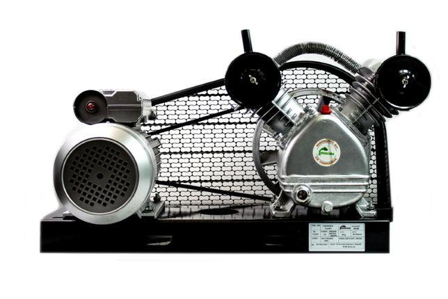 Sprężarka do kompresora 2065 + silnik 2,2 kW 3 KM na płycie z osłoną