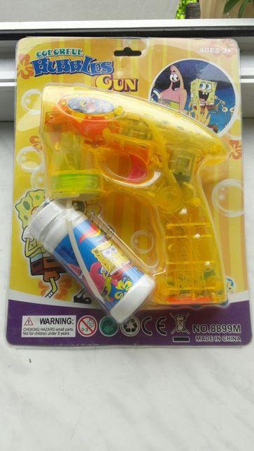 Светодиодный пузырчатый пистолет