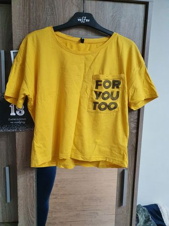 Krótka koszulka r. S SinSay