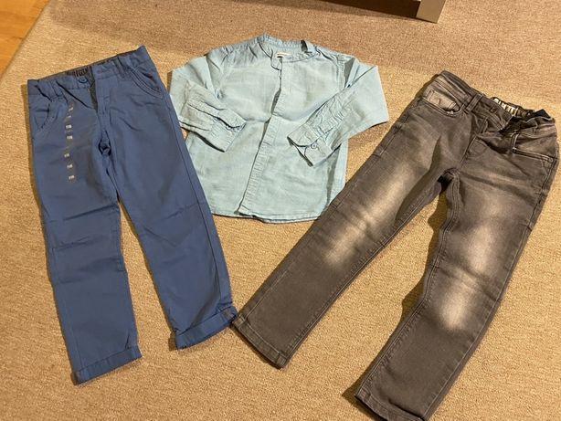 Ubranka 116 nowe/idealne