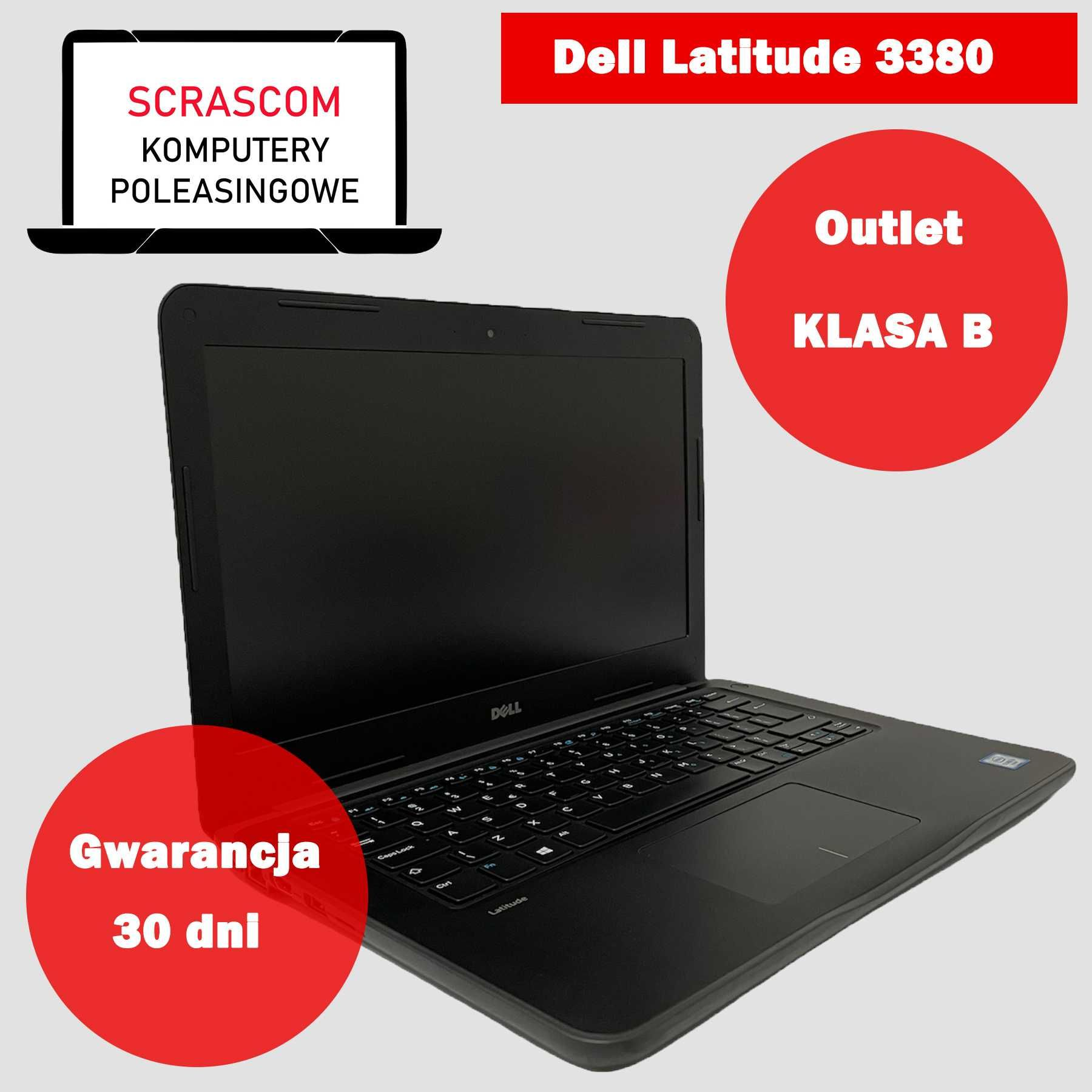 Laptop Dell Latitude 3380 i3 4GB 120GB SSD Intel Klasa B Gwarancja