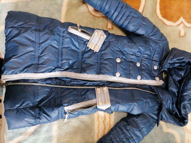 Куртка зимова пуховик розмір S