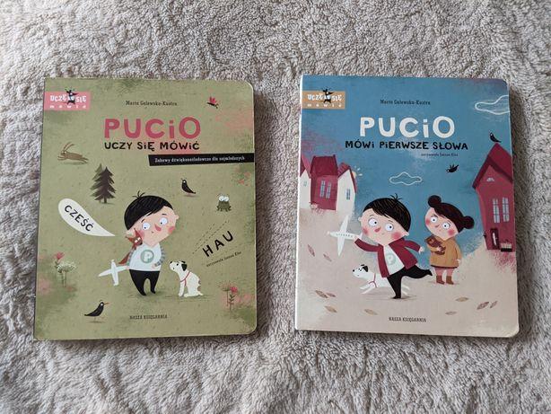 Zestaw Książek Pucio mówi pierwsze słowa Pucio uczy się mówić