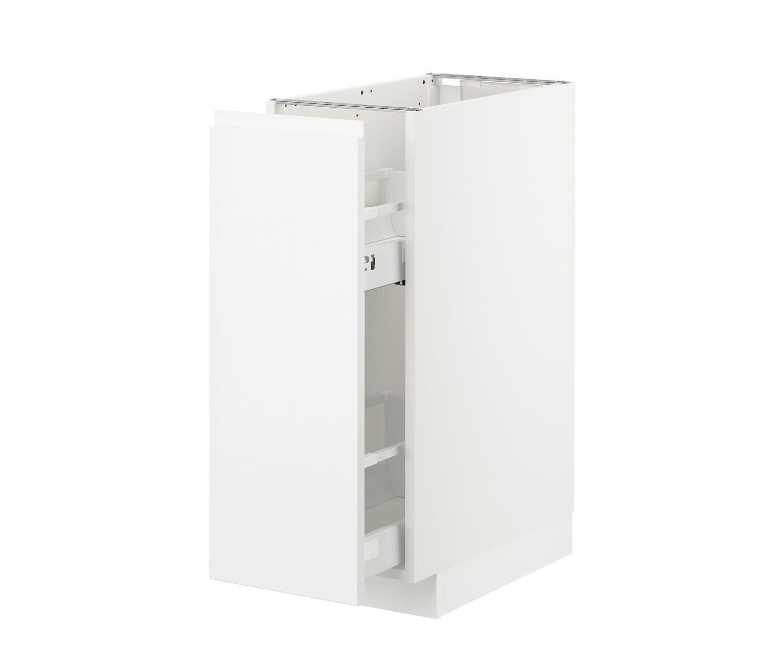 Armario debaixo IKEA - METOD voxtorp branco brilh 30x60
