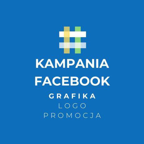 Kampania Facebook Grafika Logo Ulotki Promocja