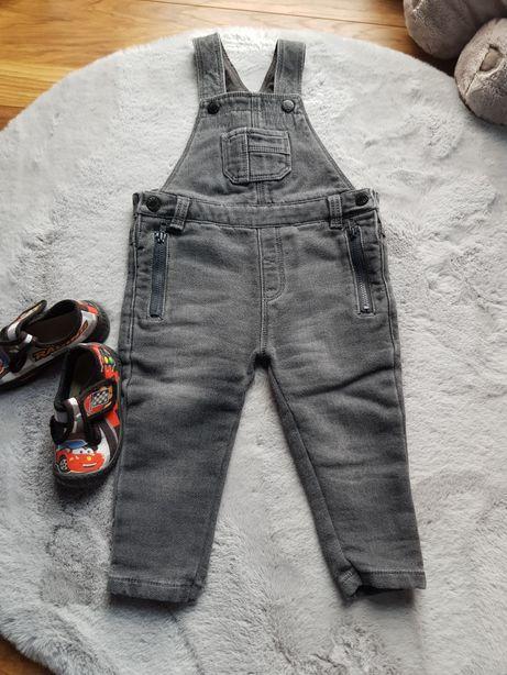 Spodnie rybaczki r.68/74 jeans
