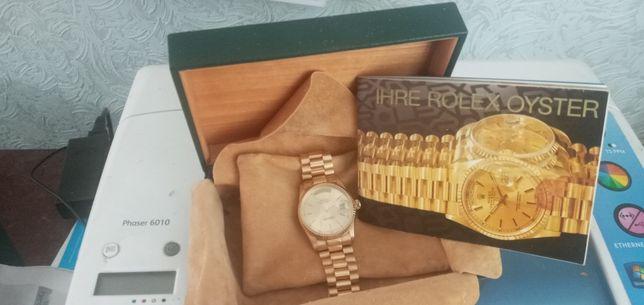 Rolex DATEJUST золото 750 пробы,есть акт проверки золота,вес общий 124