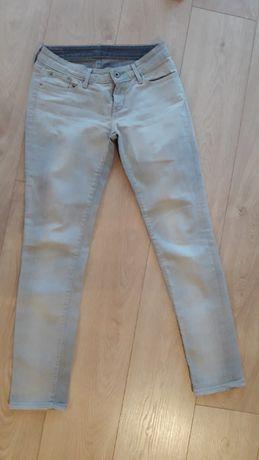 jeansy szare Levis 34 XS