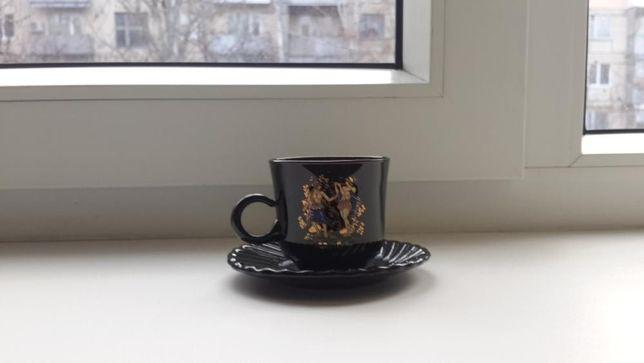 Стеклянные кофейные чашки ( 6шт. )